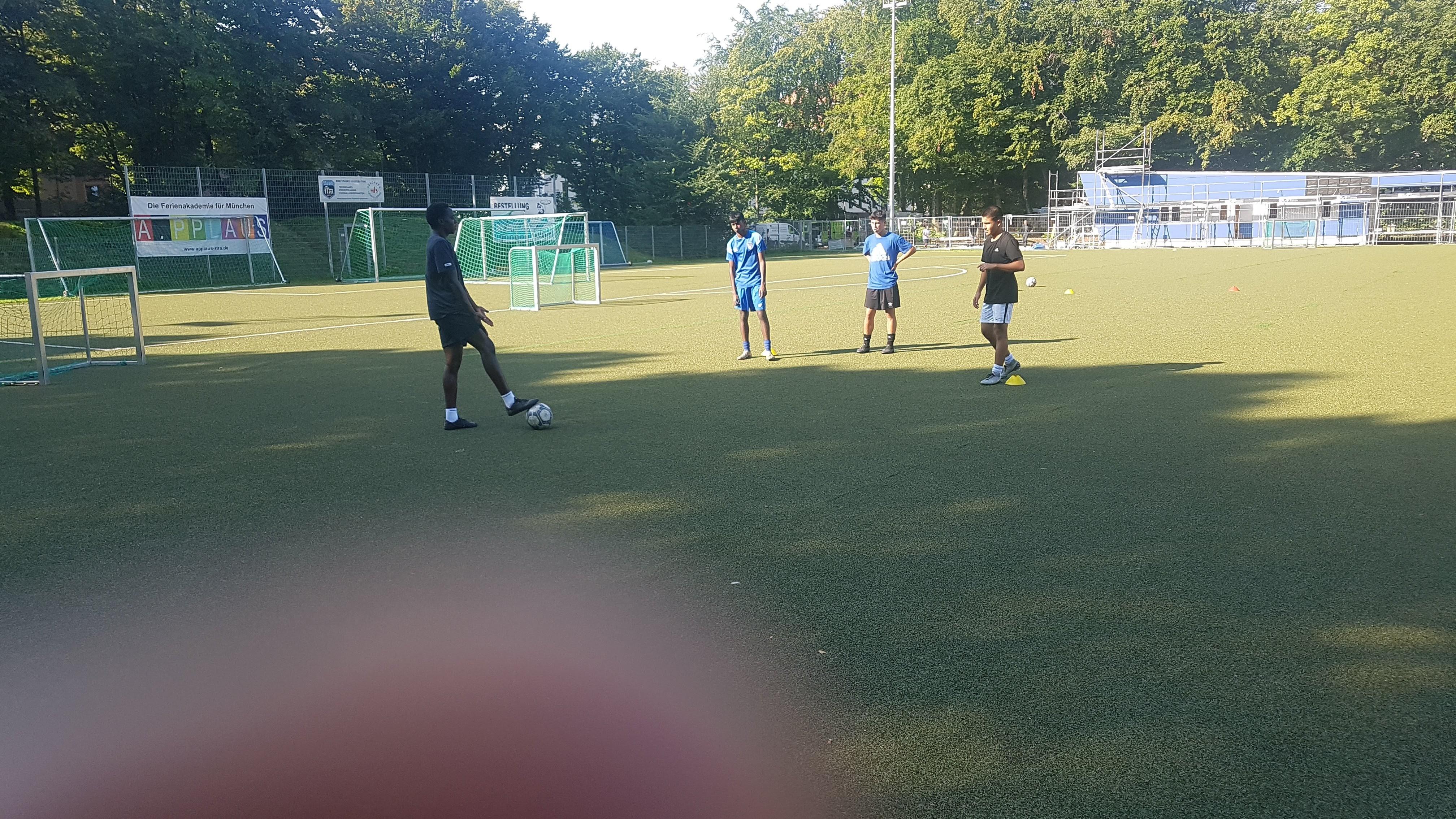 2020 Training in Munich Football School