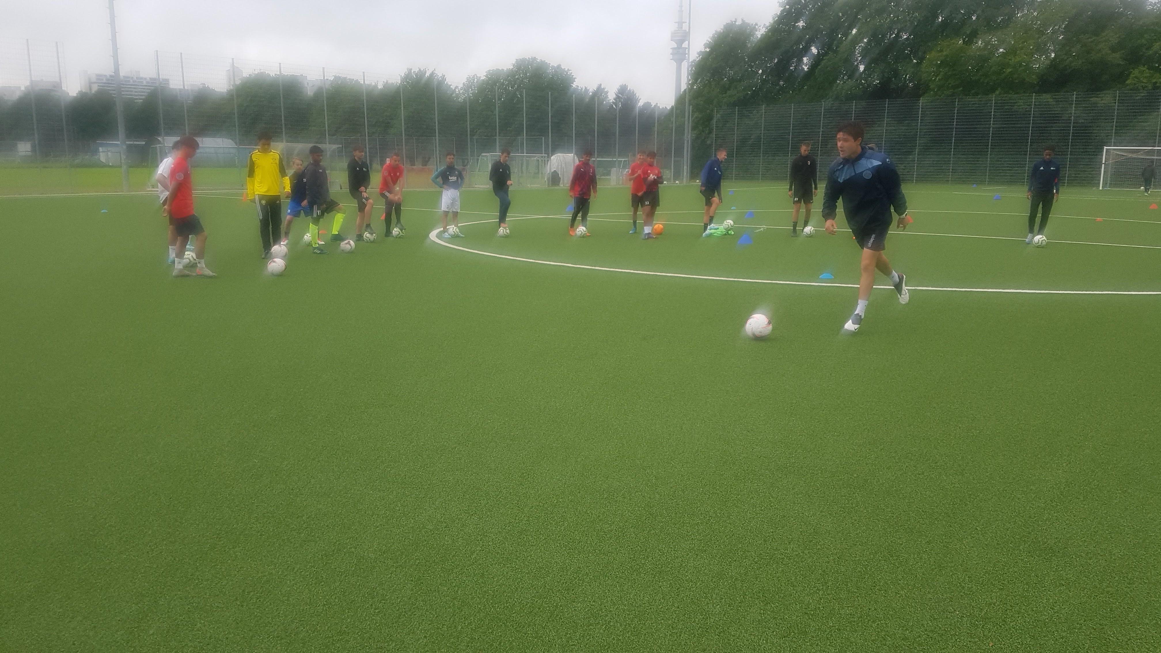U15 trials in Munich Germany