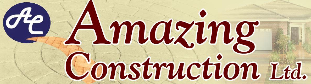 Amazing Construction Ltd. Concrete Landscaping Lawn Sprinklers